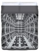 George Peabody Library II Duvet Cover