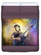 George Thorogood In Cazorla In Spain 02 Duvet Cover