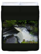 George W Childs Park Waterfall Duvet Cover