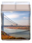 George Washington Bridge Duvet Cover