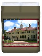 George Washington's Mount Vernon Duvet Cover