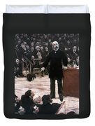 Georges Clemenceau (1841-1929) Duvet Cover