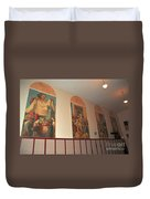 Gerald Mast Murals In Clare Michigan Duvet Cover