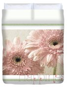 Gerber Daisy Happiness 3 Duvet Cover