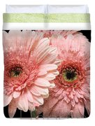 Gerber Daisy Happiness 4 Duvet Cover