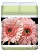 Gerber Daisy Love 4 Duvet Cover