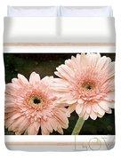 Gerber Daisy Love 5 Duvet Cover