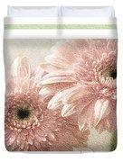 Gerber Daisy Peace 3 Duvet Cover