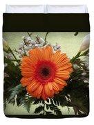 Gerbera Daisy Duvet Cover by Jeff Kolker