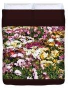 Gerbera Flowers Duvet Cover