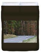 German Country Road Duvet Cover