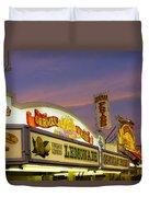 German Fries Topsfield Fair Duvet Cover