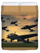 German Heinkel Bombers Taking Duvet Cover