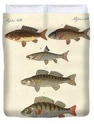 German Sea Fish Duvet Cover
