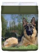 German Shepherd Dog Duvet Cover