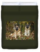 German Shepherd Dogs Duvet Cover