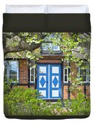 German Timber-framed Country House Duvet Cover by Heiko Koehrer-Wagner