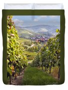 German Vineyard Duvet Cover