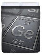Germanium Chemical Element Duvet Cover