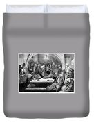 Germany: Beer Cellar, 1875 Duvet Cover