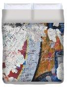 Germany, Berlin Wall Berlin Duvet Cover
