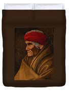Geronimo At 77 Duvet Cover