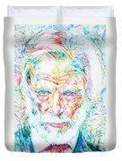 Gerry Mulligan - Portrait Duvet Cover