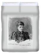 Gertrude Bell (1868-1926) Duvet Cover