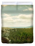 Gertrudes Nose Hiking Trail Duvet Cover