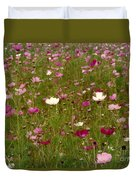 Get Well Bouquet Just For You Duvet Cover