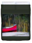 Getaway Canoe Duvet Cover
