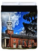 Gettysburg Lutheran Seminary Chapel Duvet Cover