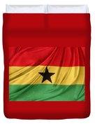 Ghana Flag Duvet Cover