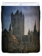 Ghent Skyline Duvet Cover