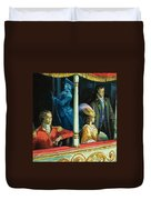 Ghost At The Theatre Duvet Cover