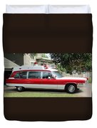 Ghost Buster Style Ambulance Duvet Cover