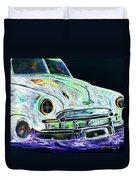 Ghost Car Duvet Cover
