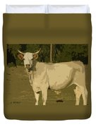 Ghost Cow 2 Duvet Cover