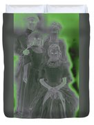 Ghost Family Portrait Duvet Cover
