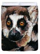 Ghost Of Madagascar Duvet Cover
