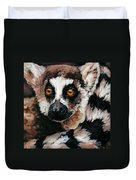 Ghost Of Madagascar Duvet Cover