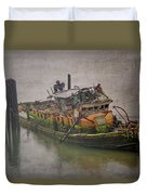 Ghost Steamer Duvet Cover