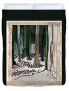 Ghost Stories Forest Graveyard By Jrr Duvet Cover