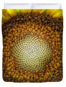 Ghost Sunflower Duvet Cover