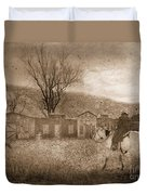 Ghost Town #2 Duvet Cover