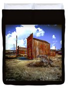 Ghost Towns In The Southwest Duvet Cover