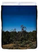Ghost Tree Of The West Duvet Cover