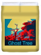 Ghost Tree Poster Duvet Cover