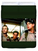 Ghostbusters Duvet Cover by Paul Tagliamonte