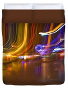 Ghosts Of The Lights Duvet Cover